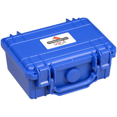 BLUE Guardsman Cigar Travel Case Caddy Humidor 15 Count - IN STOCK
