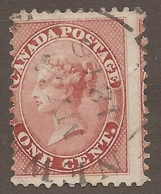 Canada #14 Used Dated Miss-Perf
