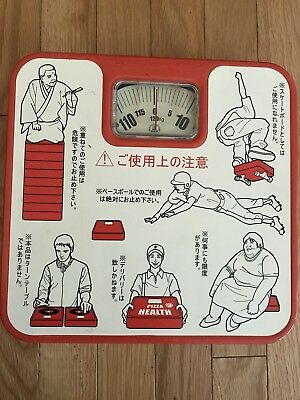 Rare 1960s or 70s Novelty Japanese Bathroom Scale