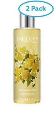 2 Packs of Yardley English Freesia Body Wash 250ml