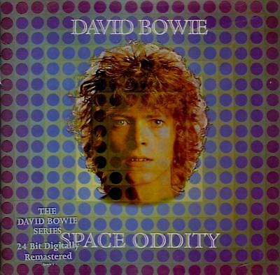 David Bowie-Space Oddity CD Remastered, Enhanced, Reissue EMI-7243 521898 0 9