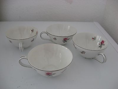 Teacups 4 Rosechinty By Meito Japan