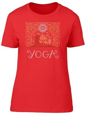 Girl Doing Yoga Exercises Women's Tee -Image by Shutterstock
