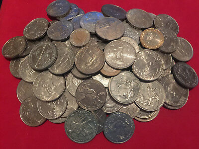 Portugal - Lot Of 100 Commemorative Coins All Unc