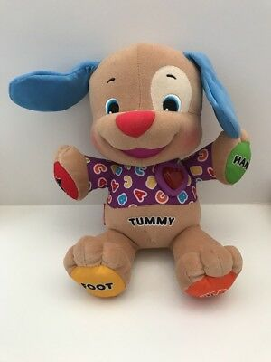 Fisher Price Laugh & Learn Love To Play Musical Puppy Dog Used gift rrp$130