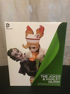 DC Collectibles DC Comics Bombshells The Joker And Harley Quinn 1st Edition