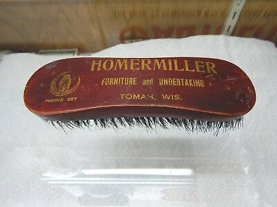 BRUSH FROM FURNATURE AND UNDERTAKER BUSINESS FROM THE 1930's - TAKE A LOOK!