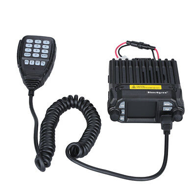 Updated Dual Band VHF UHF LCD Screen Quad-Standy Mobile Radio Transceiver 25W AU