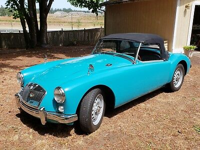 1959 MG MGA Twin Cam with Unique Factory Features 1959 MGA Twin Cam Roadster (NR)