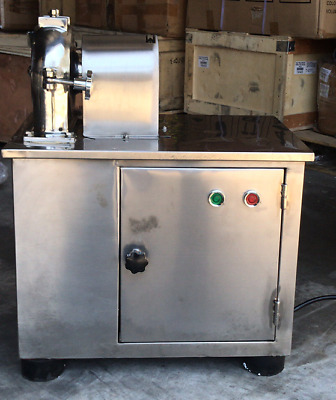 Open box Universal Mill Pulverizer Chemical Electric Grain Medcine Food Grinder