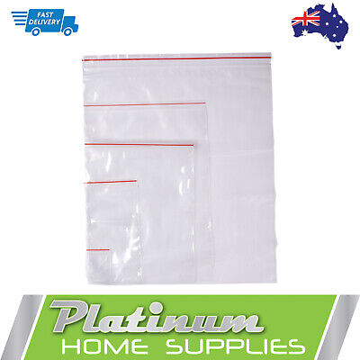 Resealable Zip Lock Plastic Clear Bags Ziplock  Recloseable Zipper Bag Small