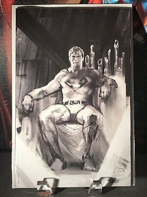 ACTION COMICS #1000 NM DELL OTTO VIRGIN B&W SKETCH VARIANT Convention Exclusive