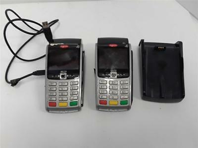 2 Ingenico iwl250 Wireless Mobile POS Credit Card Terminals Parts/Repair