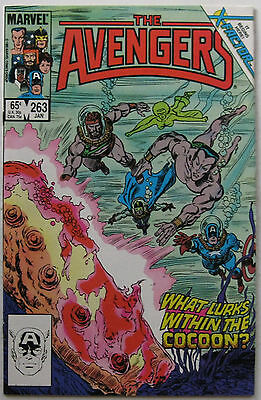 Avengers #263 (Jan 1986, Marvel), NM, return of Jean Grey, leads into X-Factor 1