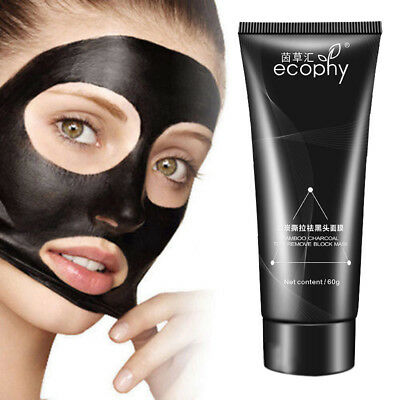Purifying Black Peel off  Blackhead Remover Facial Cleansing Charcoal Mask.""