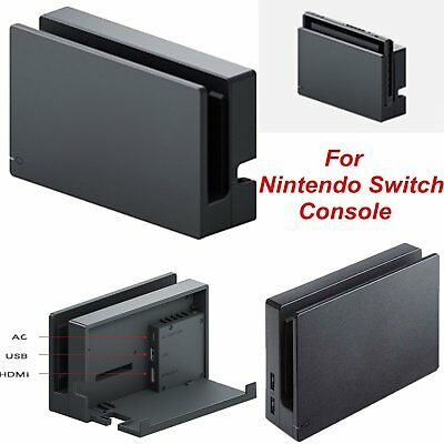 For Nintendo Switch Console Charger HDMI TV Converter Charging Dock Stand Mount