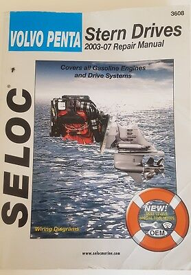 Seloc Publications Seloc Marine Tune-Up Manuals Volvo Manual 2003-2007 3608