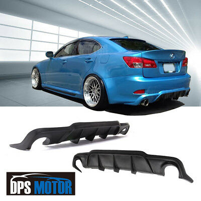 WAD Urethane Rear Bumper Lip Diffuser Body kits For 06-12 Lexus IS250 IS350 4DR