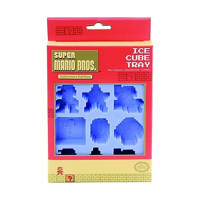Super Mario Bros Ice Cube Tray. Funky Retro Party Cubes Gift Idea for the Home