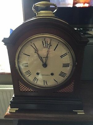bracket clock  by e.white 32 heymarket