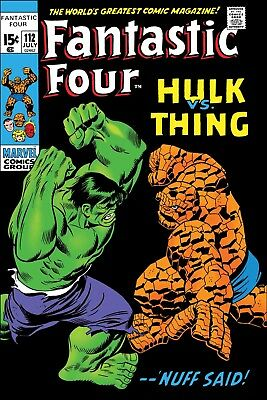 True Believers: Fantastic Four Hulk Vs Thing - Bagged & Boarded. Free Uk P+P