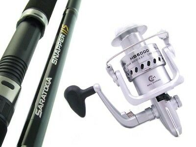 SARATOGA 7'0 6kg Snapper Salmon Spinning Fishing Rod and Reel Combo Presale