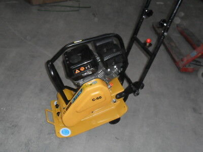 WACKER PLATE COMPACTOR PLATE  C60 72 KG with wheels