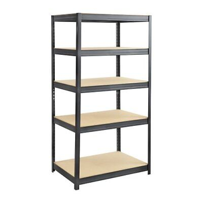 "Safco Heavy-duty Boltless Steel Shelving Unit - Floor - 72"" Height X (6247bl)"