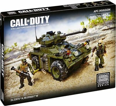 Mega Bloks Call of Duty APC Invasion Set 457 Pieces Playset