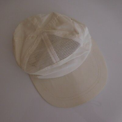 Casquette blanche taille 56 Collection vintage XXe XXIe PN France