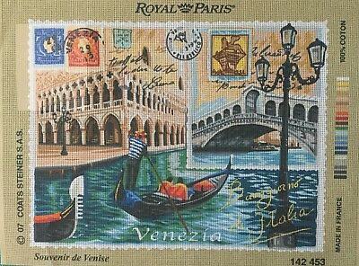 Postcard From Venice Tapestry To Stitching