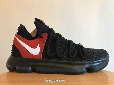 8b24b8a99f6f Nike Air Zoom Kd 10 Texas Promo Black White Desert Orange 938150 001 Size 9  New