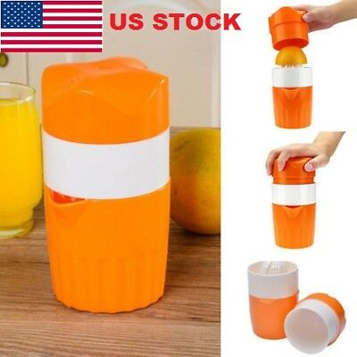 Manual Hand Citrus Juicer Orange Fruit Juice Maker Kitchen Tools Squeezer JR15