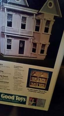 New In Box PRINCESS ANNE DOLLHOUSE No J-M975 6 Rooms Real Good Toys NEVER OPENED