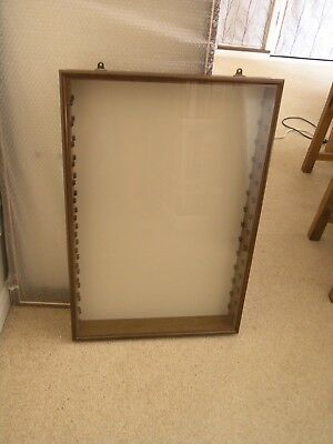 Wall Mounted Dustproof Display Cabinet (a) - Suitable for Lledo models