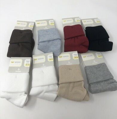 Old Navy Children Socks 4T-5T 8 Pack Triple Roll Non Skid Soles Unisex