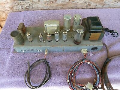 Hammond organ  A0-43-1  amplifier   Working when removed from organ.