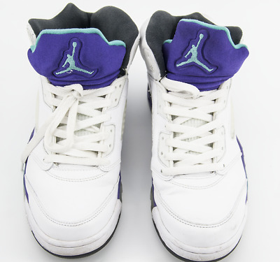 372d5f17fe35b1 Air Jordan V 5 Grape Purple OG Retro 2013 Size 10