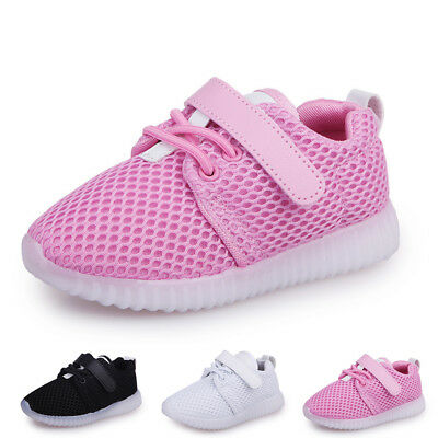 Sneakers Popular Fashion Luminous Shoes Led Kids Girls Trainers Light Boys Up