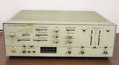 HP 8015A 50 MHZ DUAL-OUTPUT PULSE GENERATOR Opt No. 02