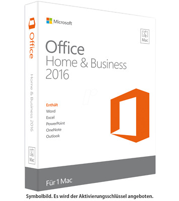 Microsoft Office Home and Business 2016 für Mac ✔ KEY SOFORTVERSAND PER E-MAIL ✔