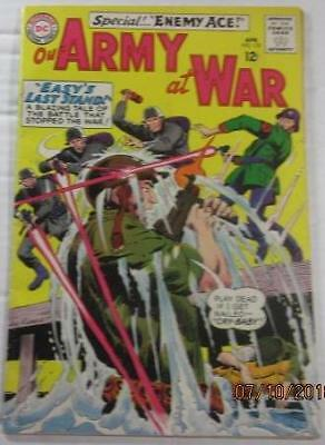 Our Army At War  #153 Dc Comics Apr 1965 2Nd App Enemy Ace  F To Near Vf 6.5