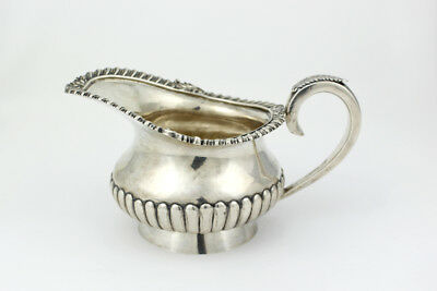 Jones, Lows and Ball Pure Coin Silver Gravy Boat; 1839-1846