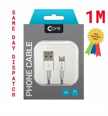 Boxed Genuine Apple iPhone 6 5 7 Plus iPad Lightning USB Data Charger Lead Cable