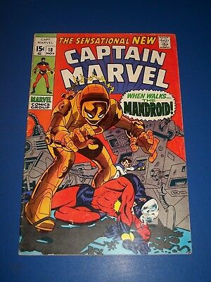 Captain Marvel #18 Silver Age Ms. Marvel gets her powers Key Fine Beauty Wow