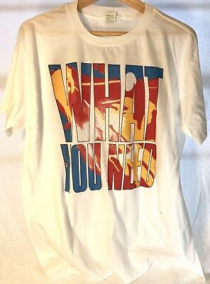 INXS What You Need Concert Tee Shirt, Dead Stock, 2XL