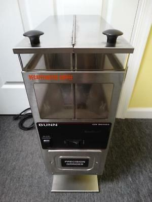 Bunn G9-2 HD Double Hopper Portion Control Commercial Coffee Bean Grinder