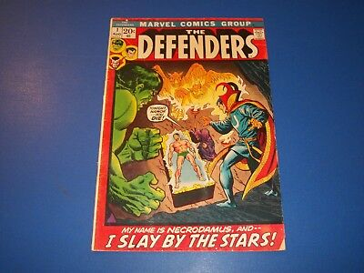 Defenders #1 Bronze Age Key Issue Wow Silver Surfer Dr. Strange