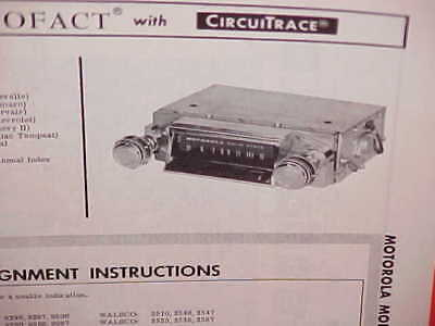 1967 Chevrolet Camaro Corvair Chevelle Ss El Camino Gto Am Radio Service Manual