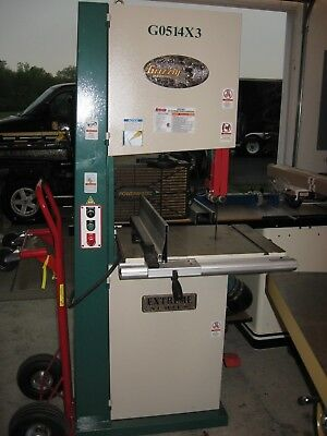 """G0514X3 Grizzly 19"""" Extreme Bandsaw-3HP, 3phase"""